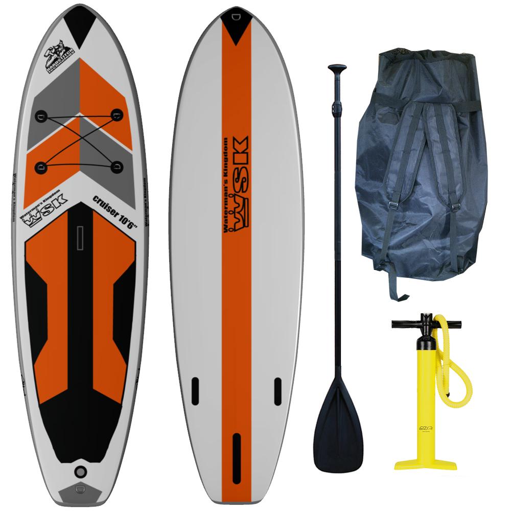 stand up paddle gonflable wsk 10 39 6 cruiser paddle. Black Bedroom Furniture Sets. Home Design Ideas