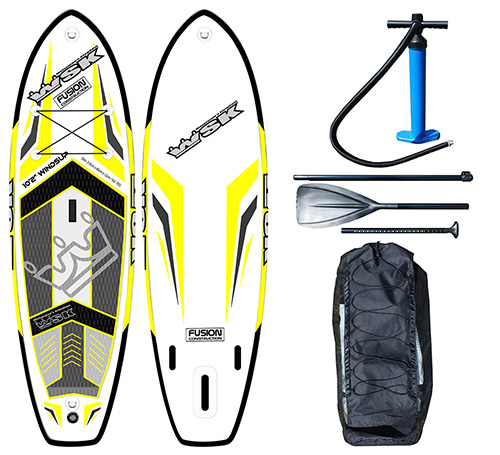 Sup Gonflable Wsk 10 2 Windsup Le Paddle Hybride